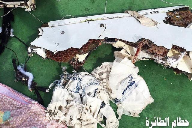 Egyptair-Absturz: Ermittler finden Sprengstoffspuren