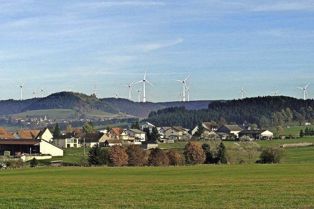 Verschiedene Sicht auf Windkraft