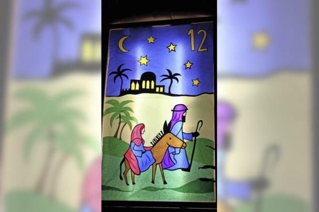 Auf dem Weg nach Bethlehem
