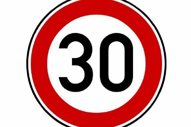Weg frei für Tempo 30 in neuen Bereichen