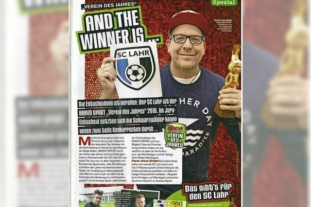 SC Lahr gewinnt Bravo-Titel