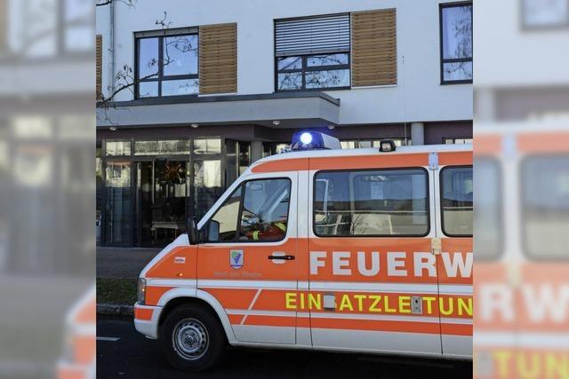Brandmeldealarm im Pflegeheim am Messeplatz