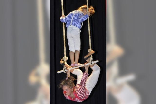 Spielfreude im Zirkuszelt