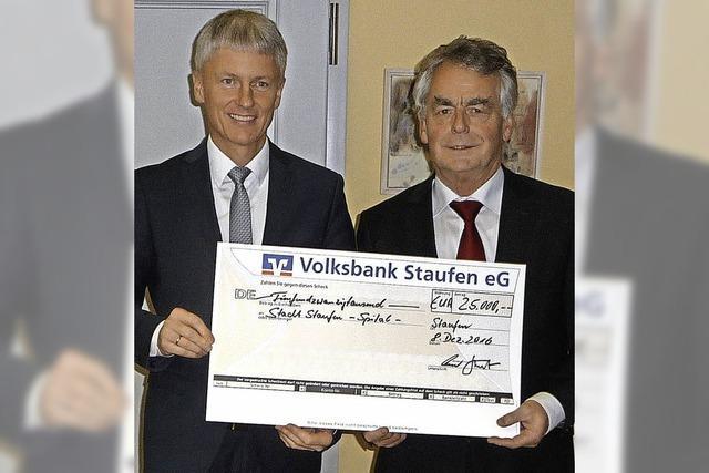 25 000 Euro für das Alte Spital