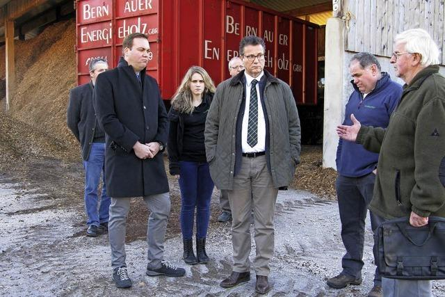 Landesminister besucht Bernau