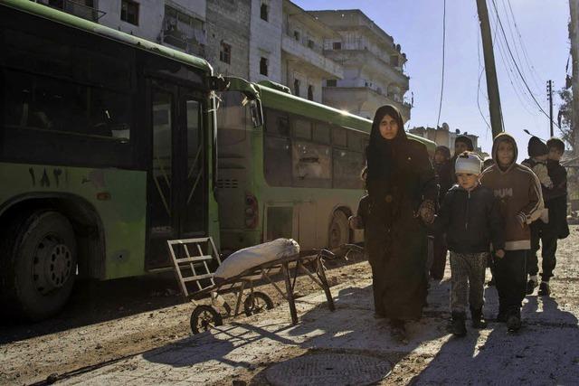 Assad erklärt Aleppo für