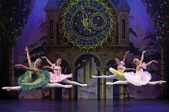 Das Russische Nationalballett tanzt