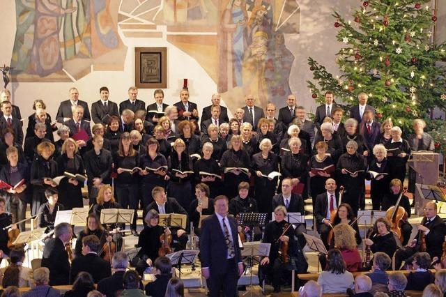 Evangelische Kantorei Grenzach mit Solisten