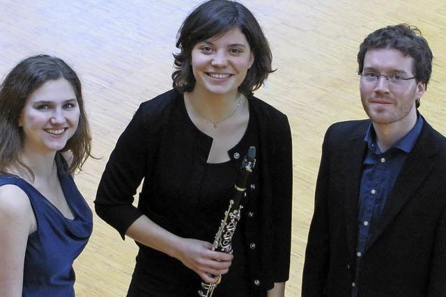 Klarinetten-Trio im Sigma-Zentrum in Bad Säckingen