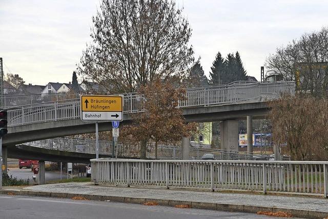 Schellenbergbrücke wird zur Baustelle