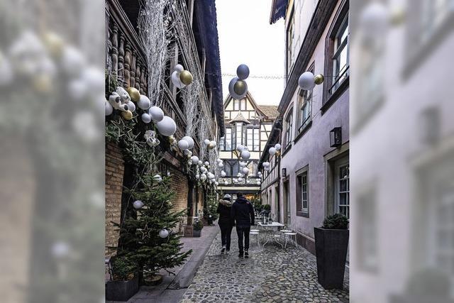 Straßburg populäres Weihnachtsziel