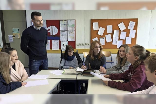 Redaktionsbesuch im Klassenzimmer