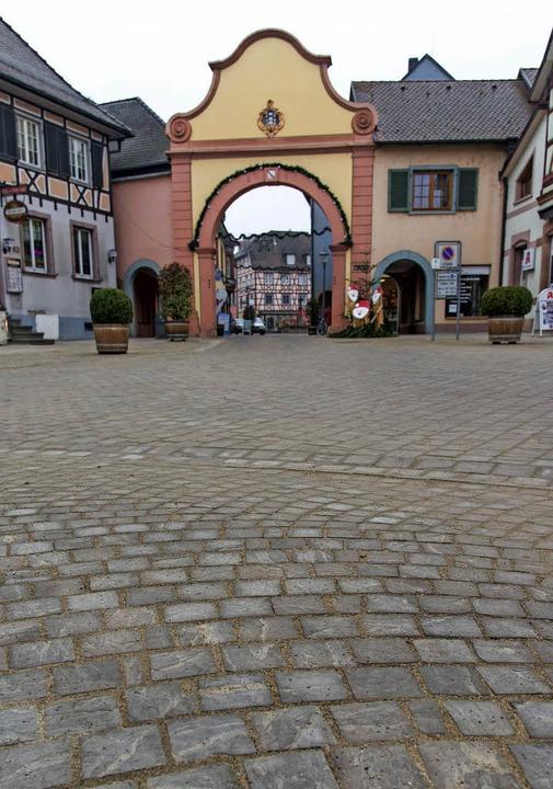 Für die BI-Altstadt Steine des Anstoße...arienplatz (Foto) und in der Altstadt.  | Foto: OlaF MICHEL