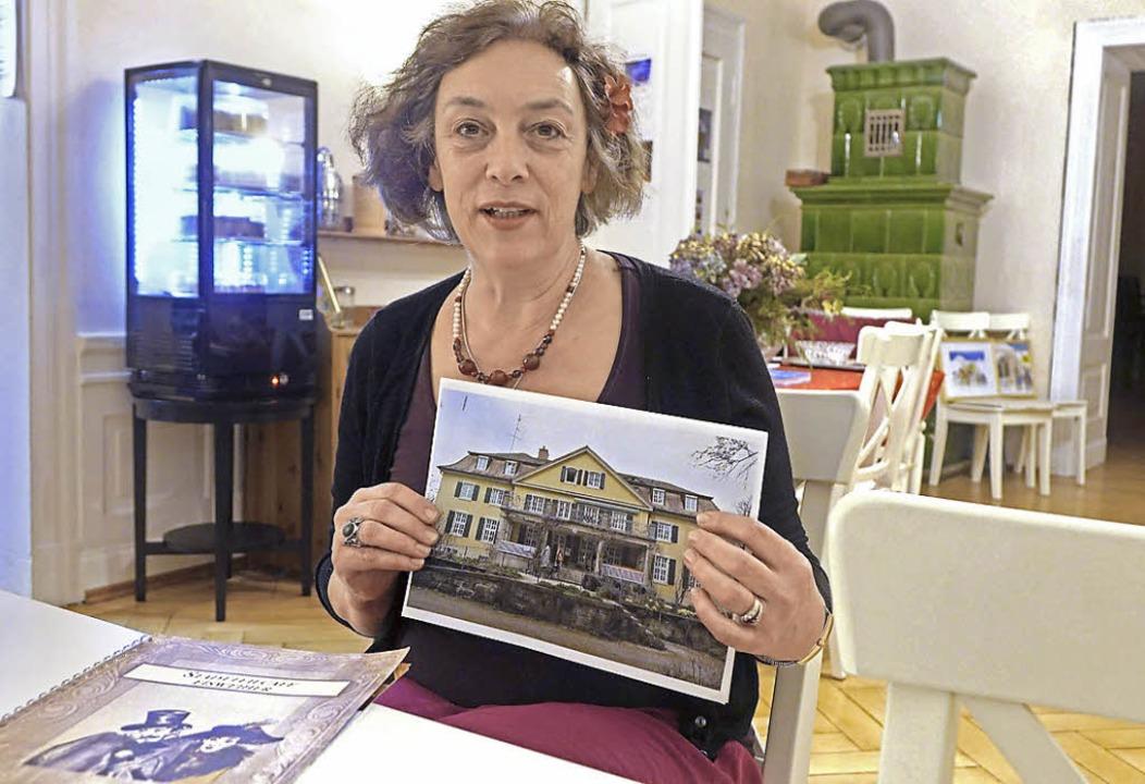 Hanna Sanner schließt am Sonntag ihr Kulturcafé in der Villa Jutzler  | Foto: Roswitha Frey