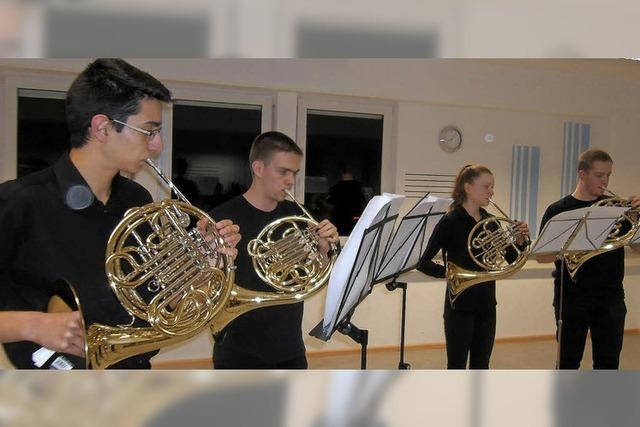 Musikschüler machen hörbare Fortschritte