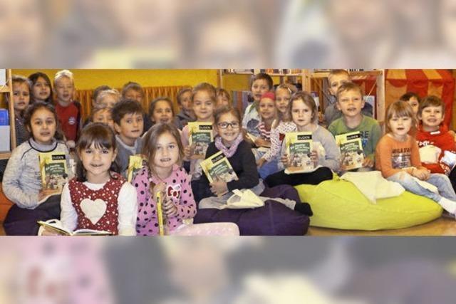 Neueröffnung der Schülerbücherei Hausen