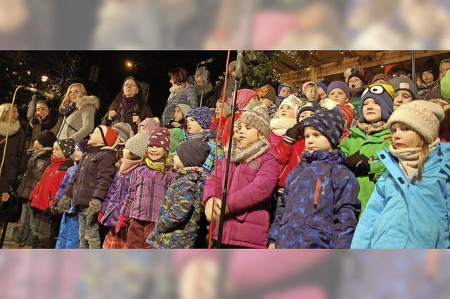 Altstadtweihnacht in Laufenburg hat begonnen