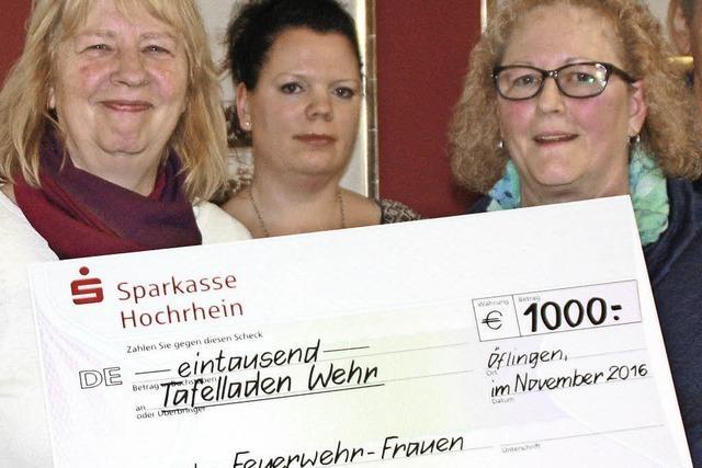 Frauen spenden für Tafelladen