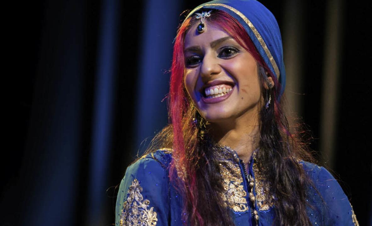 Arezoo Rezvani, Musikerin aus Freiburgs Partnerstadt Isfahan   | Foto: Ellen Schmauss