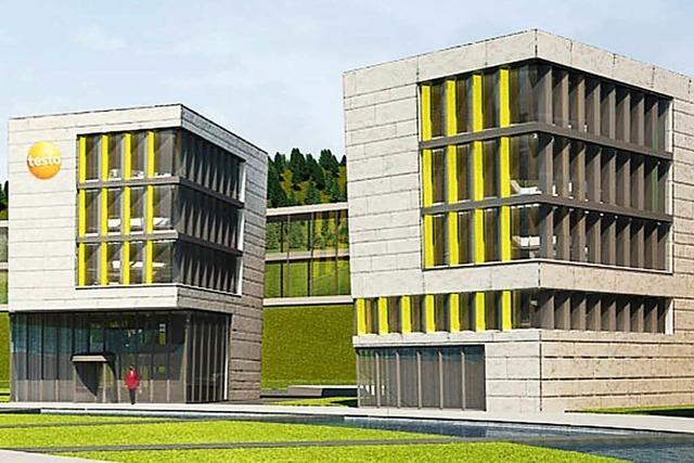 Bauarbeiten zum neuen Testo-Gebäude beginnen im Frühjahr