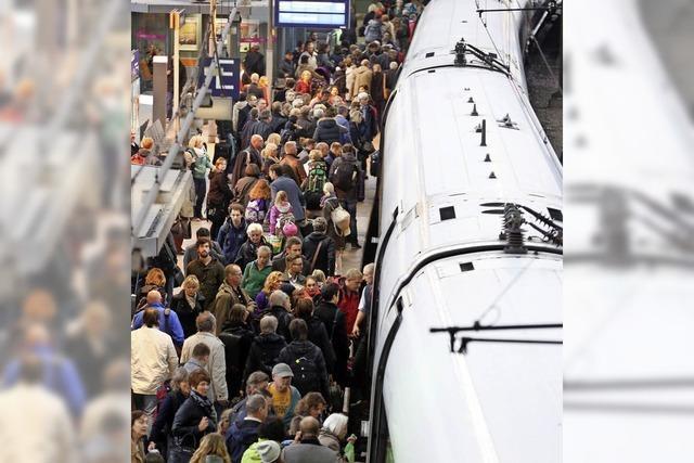 Bahn: Plätze reservieren