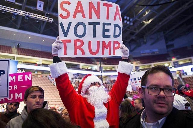 Trumps Gegner hoffen, dass Wahlmänner gegen ihn stimmen