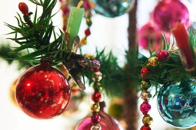 Erster geschmückter Weihnachtsbaum stand in Freiburg