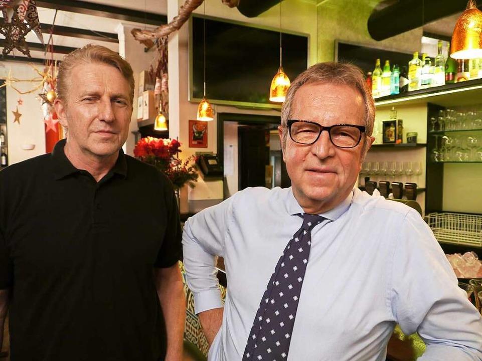 Armin Schäfer (li.) und Bernd Winkler sind seit mehr als 30 Jahren ein Paar.  | Foto: David Weigend