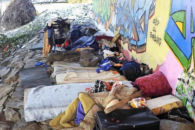 Es gibt mehr Hilfen für Freiburgs Obdachlose – aber Wohnungen fehlen