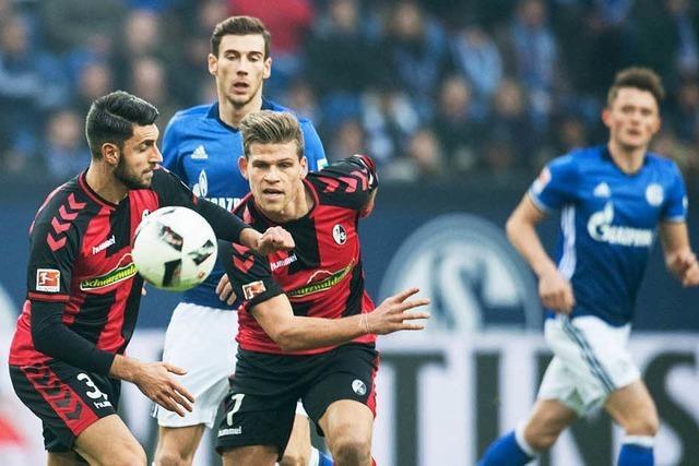 Punkteteilung auf Schalke: SC Freiburg spielt 1:1-Remis