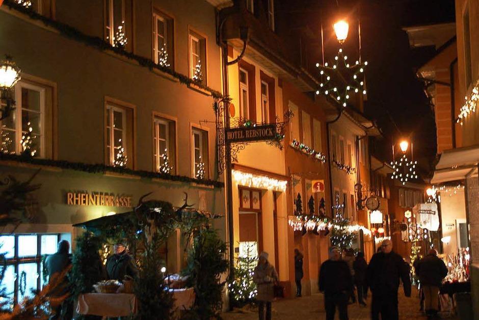 Eine tolle Atmosphäre herrschte in beiden Laufenburg am vergangenen Wochenende. (Foto: Hildegard Siebold)