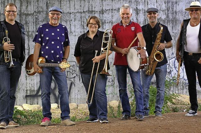 Die Band x-bluesive gastiert in Müllheim