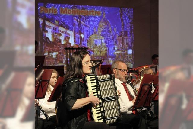 Stadtmusik entführt nach Paris