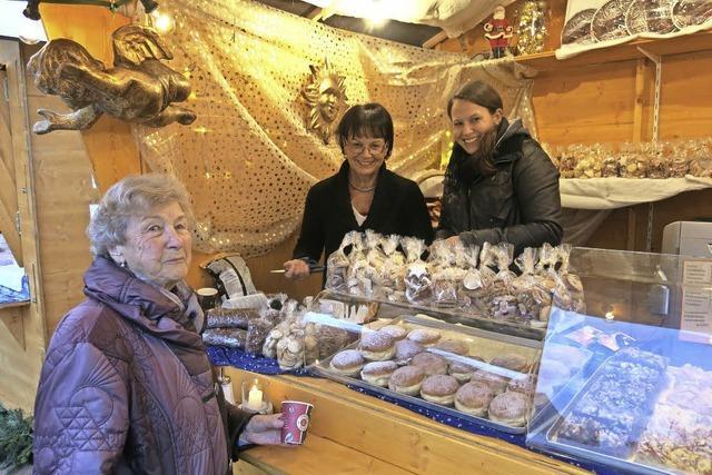 Der zweite Weihnachtsmarkt im Schlosshof war ein prachtvoller Erfolg