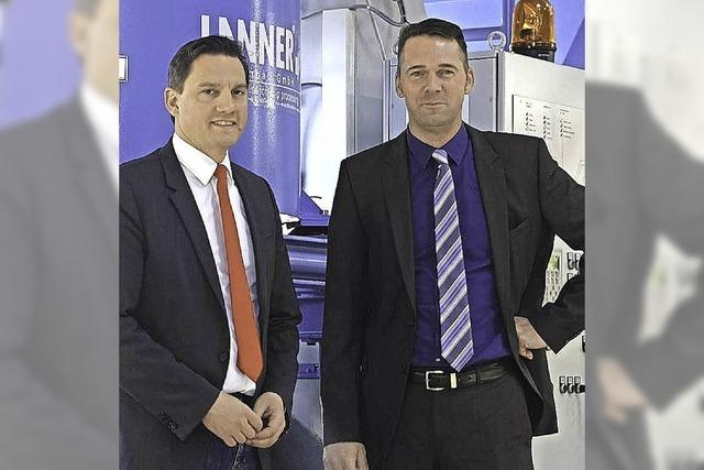 MdB Fechner bei Firma Lanner