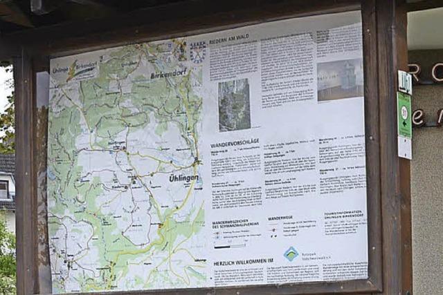 Im Rothauser Land soll die Wanderkarte neu aufgelegt werden