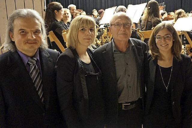 Musikverein Tunsel ehrt verdiente Mitglieder