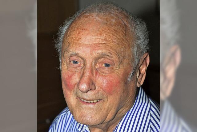 Stefan Eschbach ist 85 Jahre alt