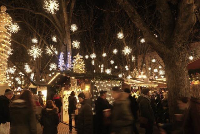 Der Basler Weihnachtsmarkt hat noch bis zum 23. Dezember geöffnet