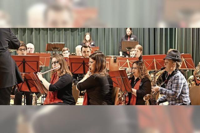 Musikverein pendelt zwischen Bergen und Rock