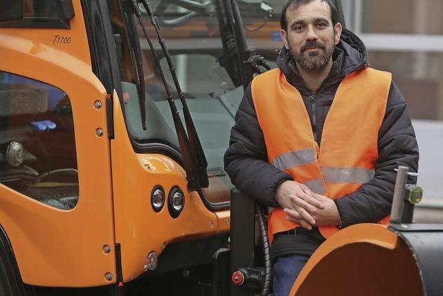 Schon in Syrien war er als Waldarbeiter unterwegs