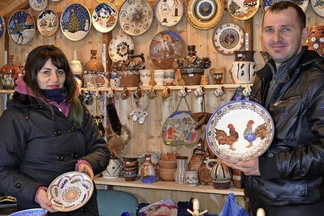 Weltkulturerbe auf dem Weihnachtsmarkt