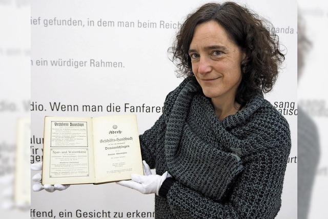 Was das Geschäfts-Handbuch der Kur- und Garnisonsstadt Donaueschingen von 1913 über die Vergangenheit verrät