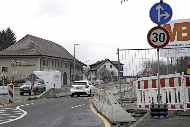 Nur die zweite Rheinbrücke entlastet