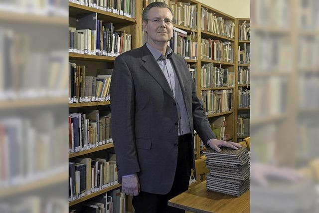 Andreas Jobst ist neuer Leiter des Freiburger Stadtarchivs