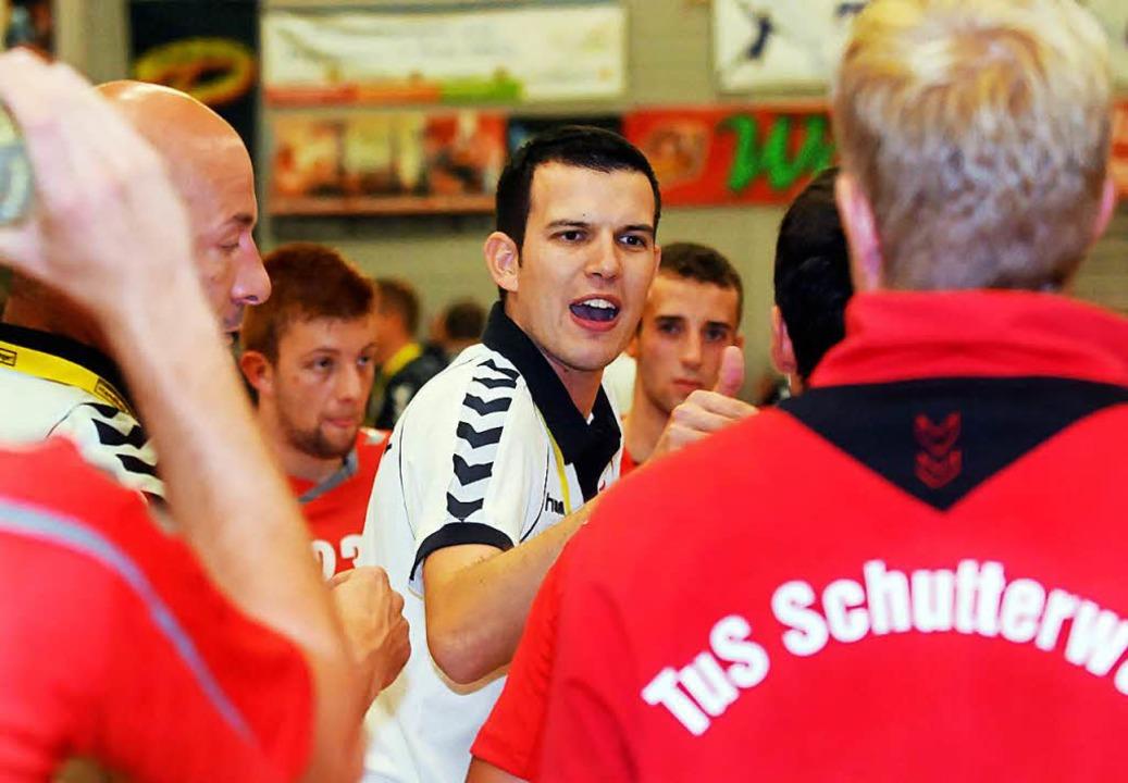 Simon Herrmann trainiert den TuS Schutterwald nur noch bis Saisonende.  | Foto: WOLFGANG KUENSTLE