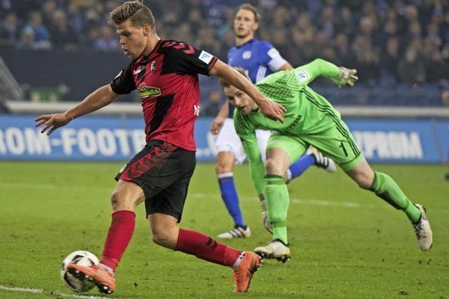 Der Sportclub rennt und ackert auf Schalke - und holt einen Punkt