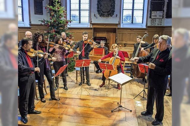 Barock-Orchester Musica Antiqua Basel und Geigenvirtuose Stefan Horváth in Weil am Rhein