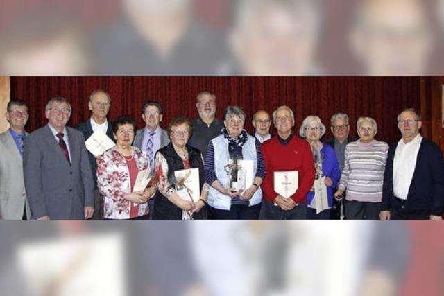Langjähriges Engagement für die KAB Friesenheim