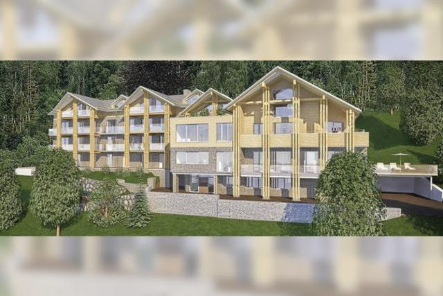 Black Forest Lodge zeigt Konturen